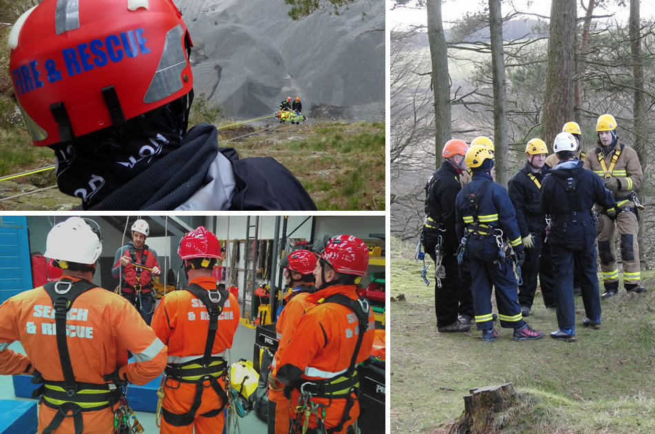 Ffire And Rescue Service Height Pack Team Leader Training Course