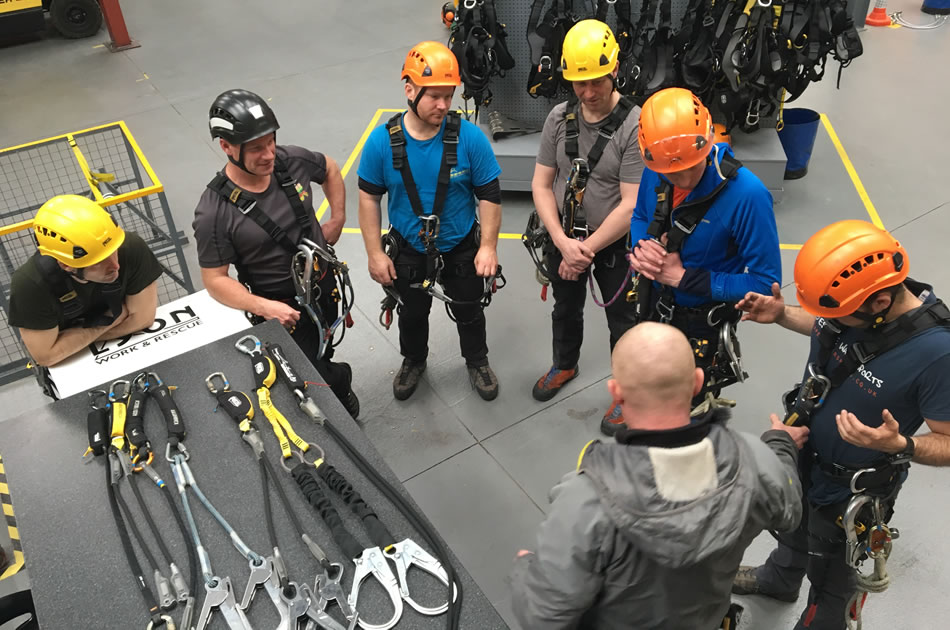 Harness & Lanyard Training Course