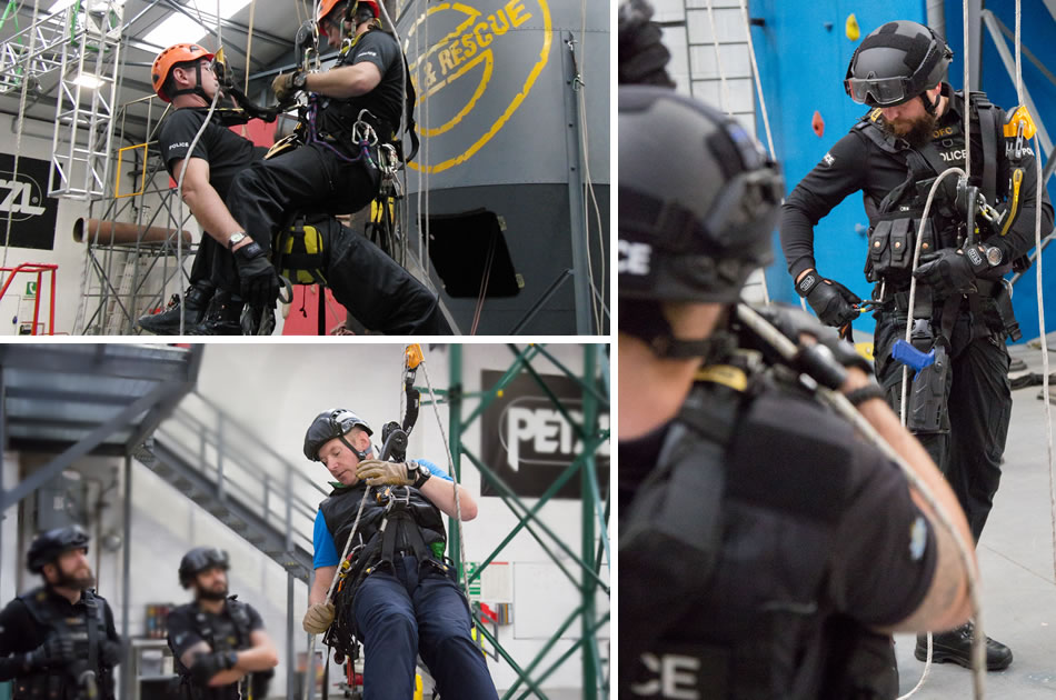 Police Officer Work At Height Training Course