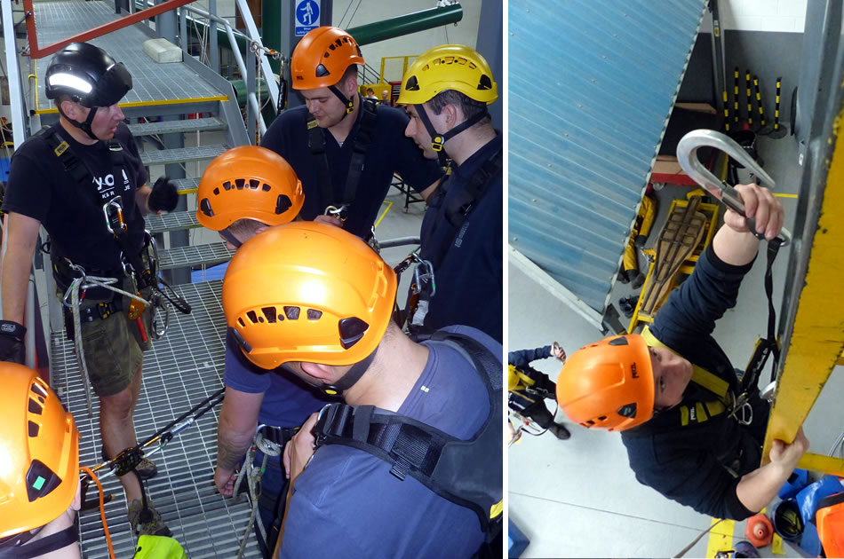 Emergency Services Work At Height Training Course